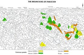 Mountains Of The World Map by Aerial Trekking In The Northern Areas Of Pakistan