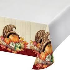 regal turkey thanksgiving plastic tablecloth 1 pack plastic
