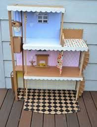 My Homemade Barbie Doll House by Welcome To Our Home Step Up To The Gate Unlock It And Come On In