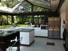 cuisine sous veranda extension de maison cuisine sol béton ciré angers uitbouw