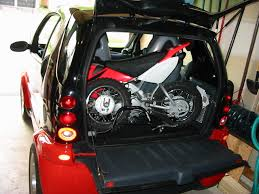 motocross bike sizes can you fit a dirt bike into a smart car general discussions