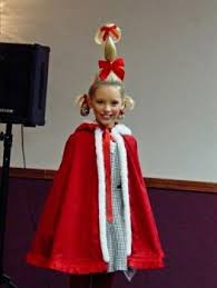 Dr Seuss Characters Halloween Costumes 25 Cindy Lou Costume Ideas Cindy Lou