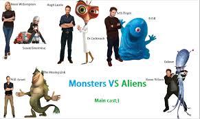 monsters aliens main cast fensy deviantart