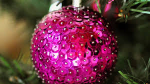create easy sequin christmas ornaments diy home guidecentral