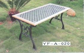 cast iron outdoor table outdoor benches metal garden bench manufacturer from mumbai