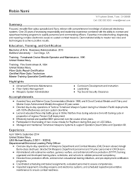 sample resume accomplishments ideas collection fiber optics technician sample resume with sample ideas collection fiber optics technician sample resume with sample