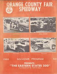orange county fair speedway ny the motor racing programme
