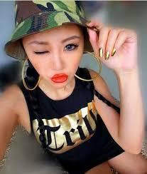 black girl earrings fashion exaggerate metal gold silver black big hoop earrings