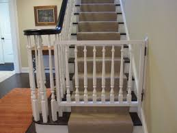 Banister Gate Adapter Gates Fot Steps Best Baby Gates For Bottom Of Stairs For The