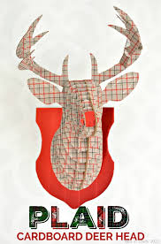Christmas Decorations Reindeer Head by