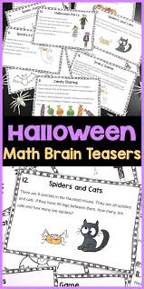halloween activities halloween math games puzzles and brain