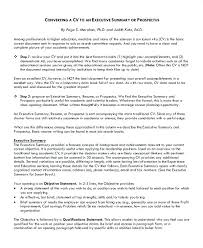executive summary resume exle executive summary resume exle sle for 8 exles in word