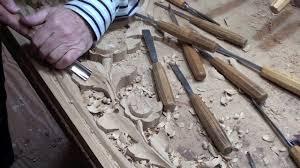 wood carving organ ornament european oak