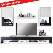 Wohnzimmerschrank Ohne Tv Wohnwände Amazon De