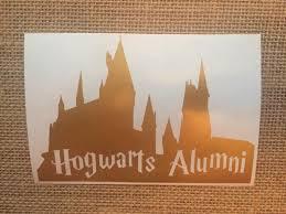 hogwarts alumni bumper sticker 13 best decals stickers images on vinyl decals laptop
