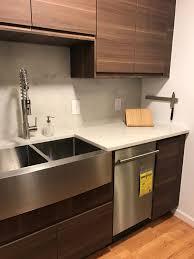 farmhouse sink with backsplash kitchen elegant kraus farmhouse sink with wooden cabinet and