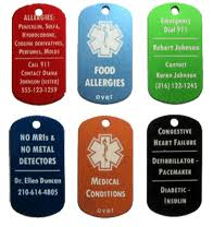 laser engraved dog tags laser engraved signs trophies awards tags metal marking gifts
