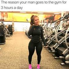 Girls At The Gym Meme - girls love guys with big muscles do it for the girls