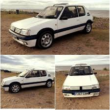 peugeot 205 gti peugeot 205 gti mi16 conversion in taunton somerset gumtree