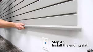zg wall garage storage system youtube