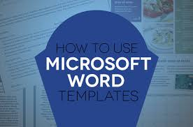 header templates for word how to use document templates in microsoft word digital trends