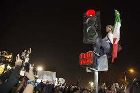 California Flag Horse Trump Protesters Mexican Flag Wavers Could Bring Unintended