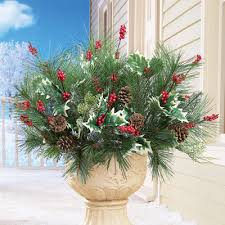 Floral Picks Pine And Berry Christmas Floral Picks From Collections Etc