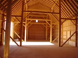 post and beam barns