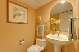 Pedestal Sink With Towel Bar Traditional Powder Room With Wall Mounted Sink U0026 Powder Room In