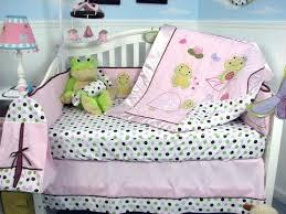 Frog Crib Bedding Frog Baby Bedding Green Frog Crib Bedding Subwaysurfershackey