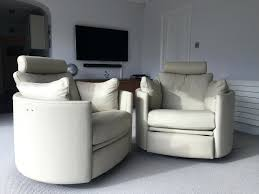 Power Leather Reclining Sofa by 58 Terrific Leather Power Reclining Sofa With Power Headrests