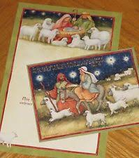 christmas cards sheep ebay