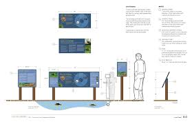 outdoor interactive exhibit discovery trail snodgrass design