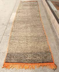 Orange Runner Rug Moroccan Runner Rug Roselawnlutheran