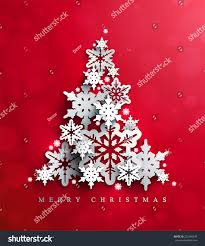 christmas new years red background christmas stock vector