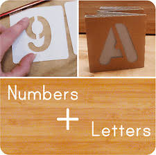 number u0026 letters stencils u0026 templates ebay