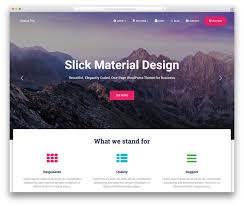 cara membuat background di blog wordpress 40 best landing page wordpress themes for apps products and