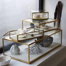 jewelry box photo frame glass shadow boxes west elm