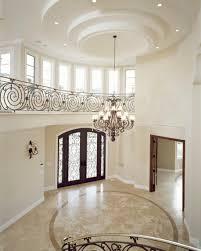 interior design breathtaking foyer ideas with gypsum decoration
