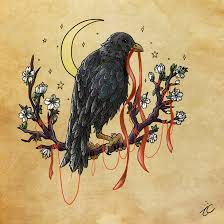crow tattoo design by momopaw on deviantart