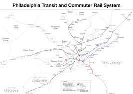 septa map septa regional rail
