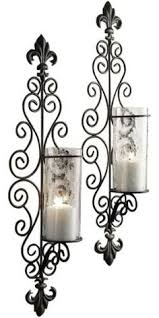 Flameless Candle Wall Sconce Set 2 Privas Metal Wall Sconces Set 2 These Wall Sconces Are Made Of