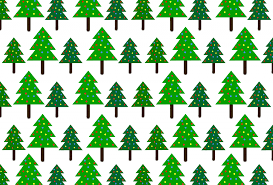 christmas trees pattern background free stock photo public