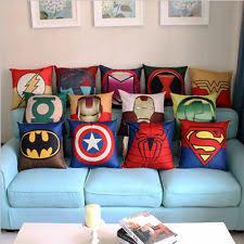Superhero Home Decor Batman Pillow Case Ebay
