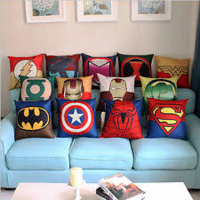 Captain America Decor Captain America Pillow Ebay
