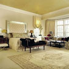 luxury bedroom decor with big headboard cozy black sleigh bed
