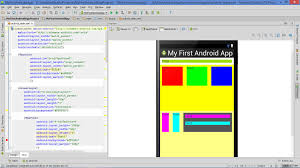 android layout width lesson how to put layout into layout to create advanced app