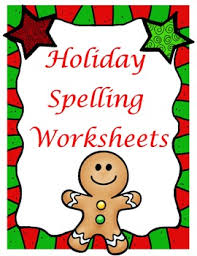 christmas abc order spelling worksheet you can use with any
