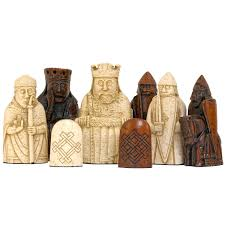 Cool Chess Sets by The Isle Of Lewis Chessmen The Official Set Amazon Co Uk Toys