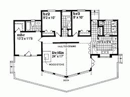 A Frame Floor Plan A Frame House Plan With 1292 Square Feet And 3 Bedrooms From Dream
